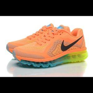 Nike Air Max Atomic Orange Black Volt Gamma Blue